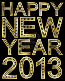 11860264-new-year-2013-golden-with-diamonds-vector-illustration