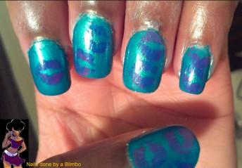 pre spring nail art challenge day 8 jewllery