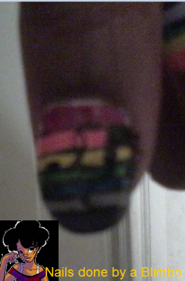 pre spring nail art challenge day 9 rainbow 2