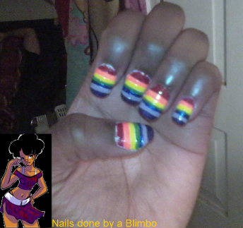 pre spring nail art challenge dy 9 rainbow