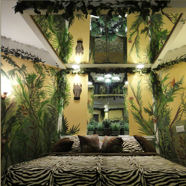 Kids Jungle Thent Bed Room