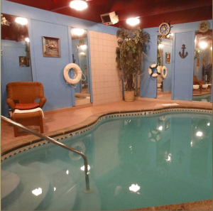 inn of the dove swimming pool suite