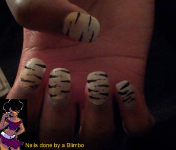 pre spring nail art challenge day 12 stripes