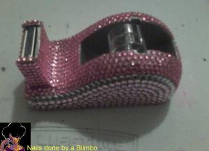 avon bedazzled tape dispensor