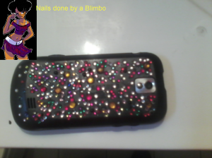 bedazzled phone