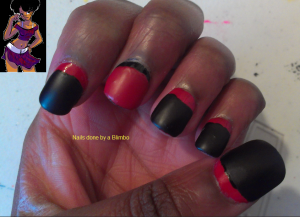 april 30 day nail art challenge day 13 ruffian mani