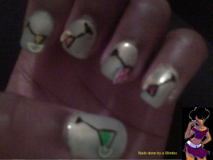 april 30 day nail art challenge day 17 3D