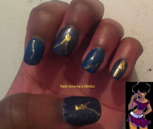 april 30 day nail art challenge day 28 inspired by fashion