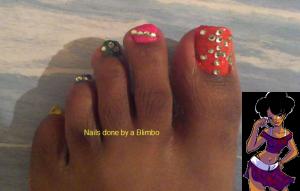 beach toes