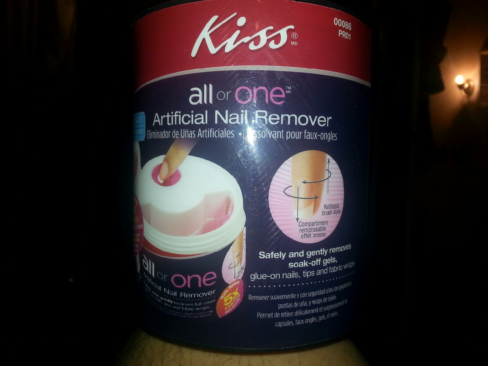 Kiss All or One Artificial nail remover | Nails done by a Blimbo