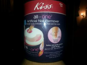 kiss all or one fake nail remover