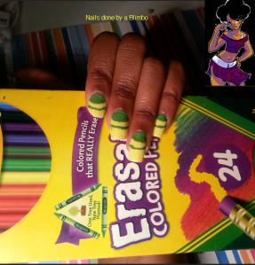 Crayola nails. pt2