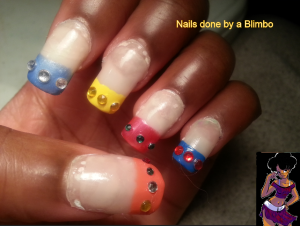 omd 31 day nail art challenge day 30 inspired by comic