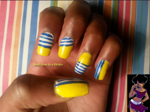 omd nail art challenge day 11