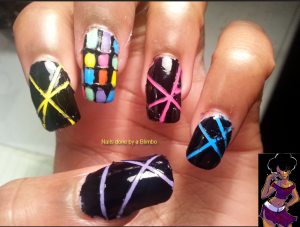 omd nail art challenge day 23 music themed