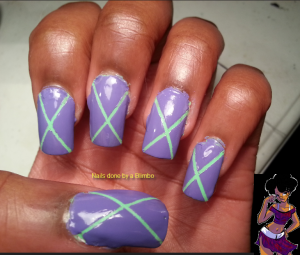 omd nail art challenge day 29 inspired by fashion
