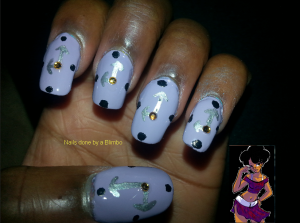 omd nail art challenge Day 3