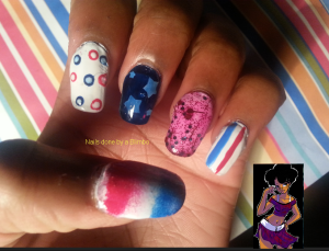 OMD nail art challenge Day 5