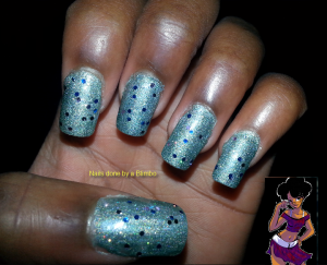 omd nail art challenge Day 7