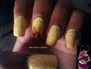 OMd nail art challenge Day 9