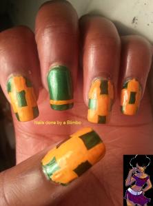 #31DC2013-green nails
