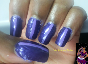 31dc2013 purple nails