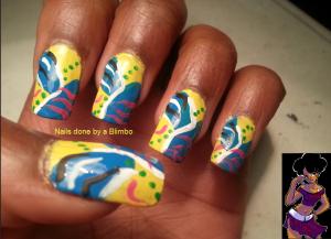 #31DC2013-yellow nails