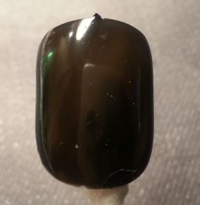Black velvet swatch