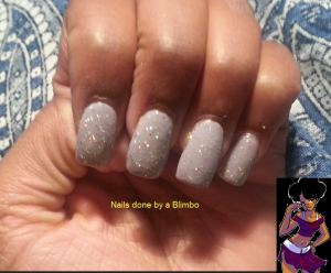 dwts inspired nails- cheryl