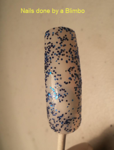 my beauty spot blue swatch