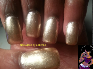 sally hansen golden swatch