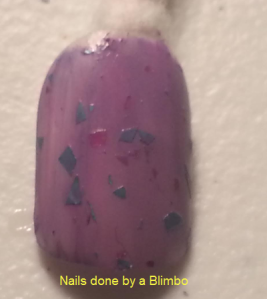 purple medium 6 layer polish swatch