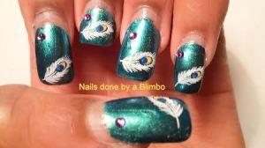 nail art a go go jewel tones