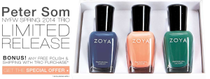 zoya spring 2014 sale
