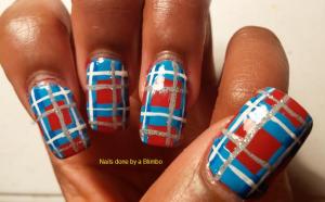 Dwts inspired nails- peta and james week 3