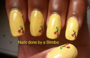 OMd july nail art challenge Day 24- fruit