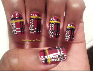 omd july nail art challenge day 30