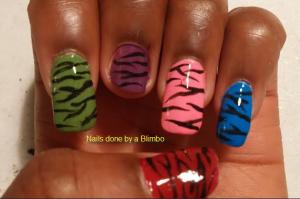zebra skittle