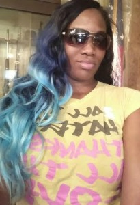 Blue hair dont care